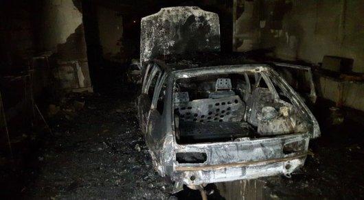 У алматинца сгорело СТО, переделанное из съемной квартиры