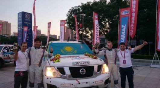 Казахстанский экипаж стал победителем ралли