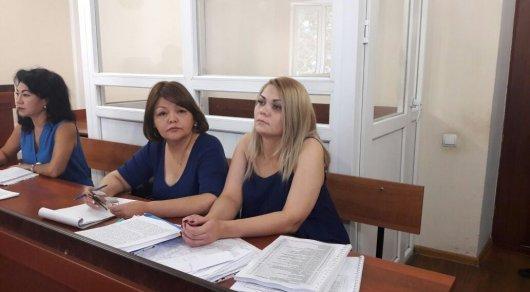 В Алматы начался суд по делу об укрывательстве изнасилования Слекишиной в СИЗО