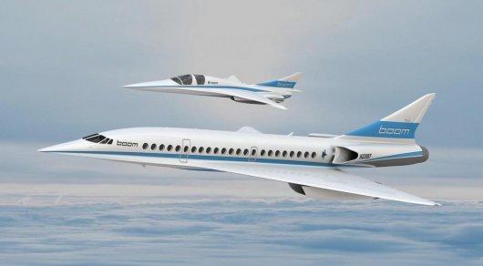 NASA создаст сверхзвуковой лайнер для пе ...