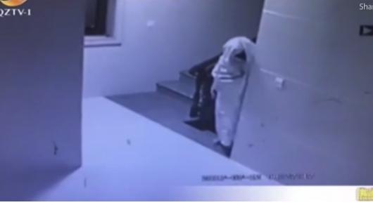 Грабитель оделся призраком, чтобы обхитрить камеры наблюдения