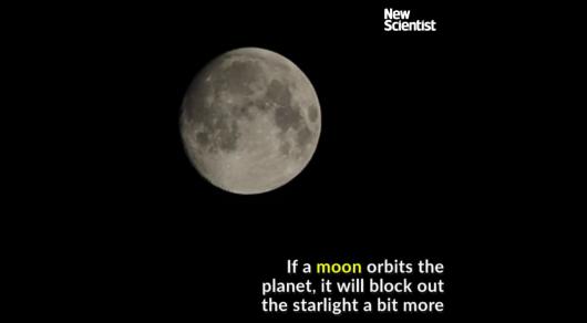Астрономы обнаружили первую экзолуну