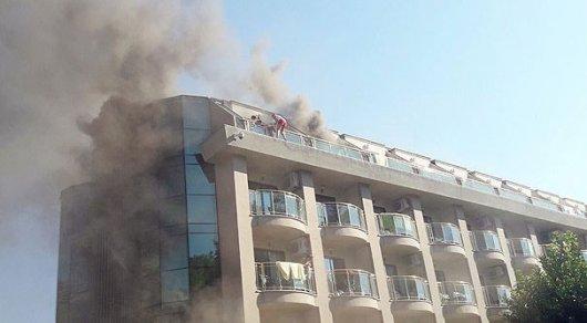 Туристов непотребуется переселять после пожара вотеле вТурции— АТОР