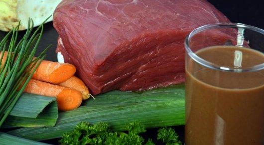 Напитки из мяса поступят в продажу в Европе