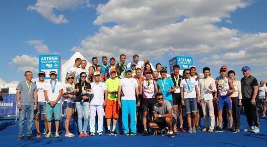Винокуров, Рахимбаев и Жамишев заняли призовые места чемпионата Казахстана по триатлону