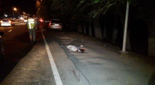 Водитель Subaru сбил насмерть женщину в Алматы