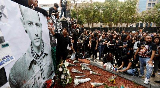Тайные похороны солиста Linkin Park состоялись в США