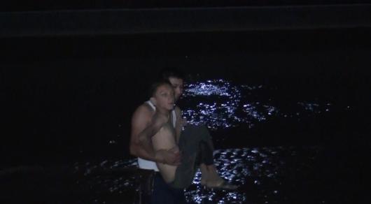 Немого подростка, тонувшего в реке, спасли полицейские Шымкента