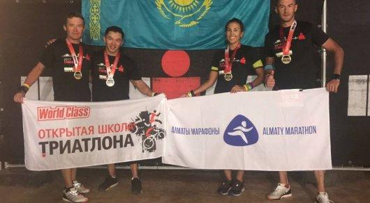 Казахстанка финишировала на своем дебютном IRONMAN, несмотря на травму