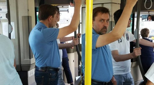 Замакима Астаны Сергей Хорошун рассказал о своей поездке в автобусе