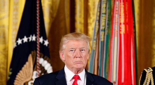 Трамп подписал закон об антироссийских санкциях - Белый дом