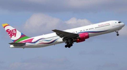 Sunday Airlines изменила расписание рейсов на туристические направления