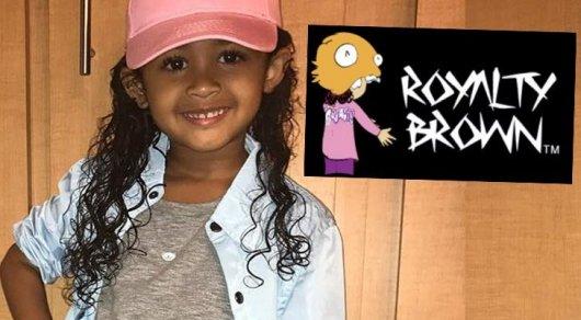 3-летняя дочь Криса Брауна запустила собственную линию одежды