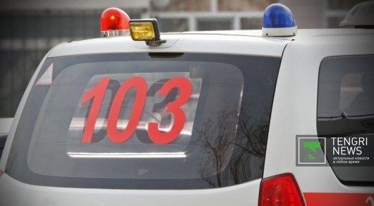Минивэн и внедорожник столкнулись на трассе Астана-Щучинск: 2 человека погибли