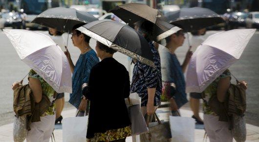 Из-за жары в Японии гибнут люди