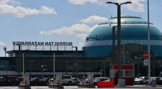Надпись Nursultan Nazarbayev установили на здании аэропорта Астаны