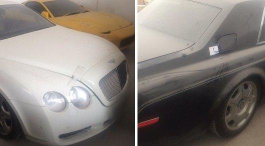 Желающих купитьRolls-Royce и Bentley Тохтара Тулешова не нашлось