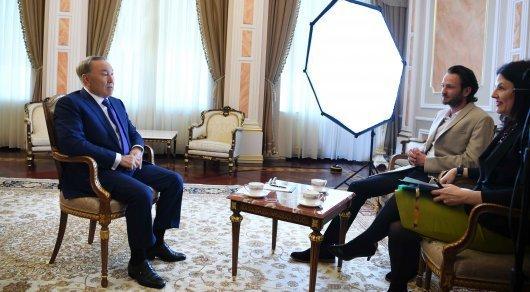 Отрывок из интервью Назарбаева телеканалу National Geographic появился в Сети