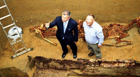 Степная амазонка захоронена в Берельском кургане - Даниал Ахметов