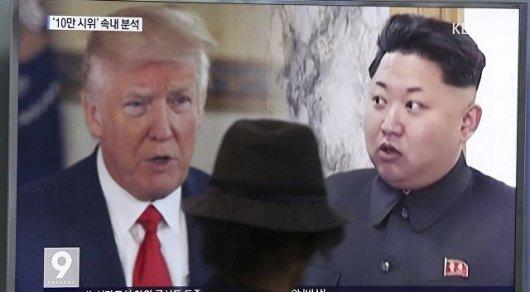 Трамп пригрозил КНДР возмездием в случае ракетного удара