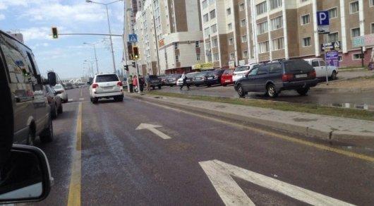 В Астане из-за велогонки ограничат движение по нескольким улицам