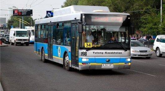 Водители автобусов Алматы вышли на забастовку и потребовали убрать контроль
