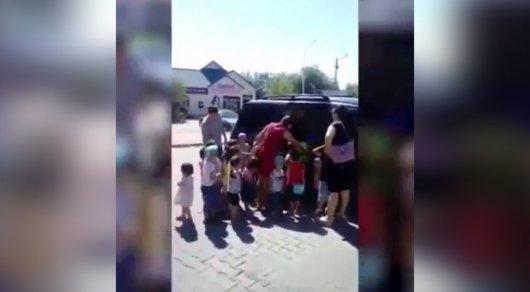 Перевозка около 20 воспитанников детского сада в