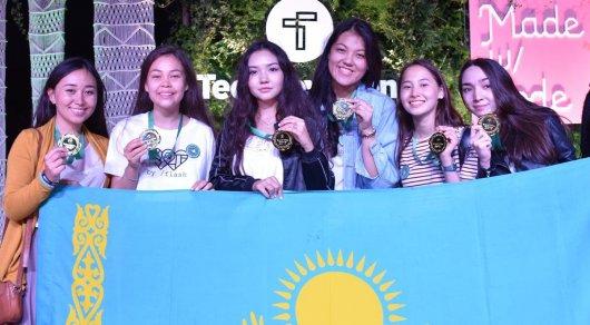 Казахстанские школьницы завоевали гран-при на конкурсе программирования в Силиконовой долине