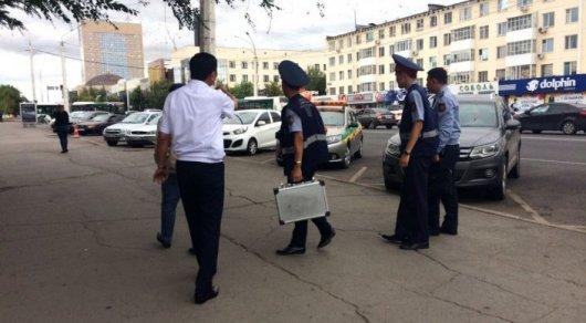 Полиция ищет напавшего на ювелирный магазин в Астане