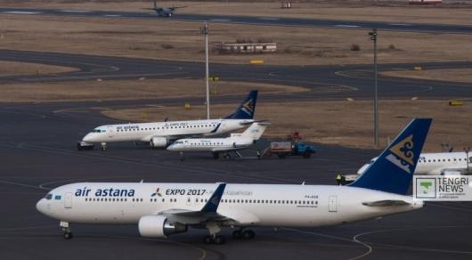 Самолет столкнулся с птицей: будут задержки рейсов из Астаны и Алматы