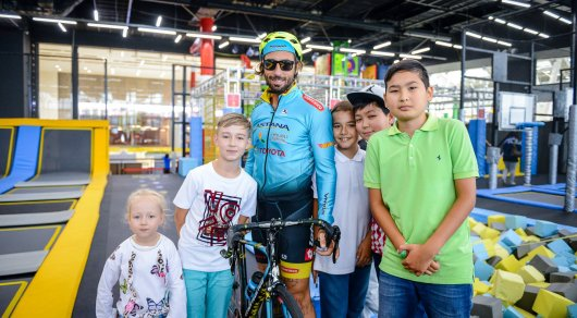 Велокаскадер Витторио Брумотти: