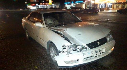 Водитель Toyota насмерть сбил пешехода в Алматы