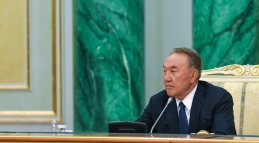 Назарбаев выразил соболезнования президенту Египта