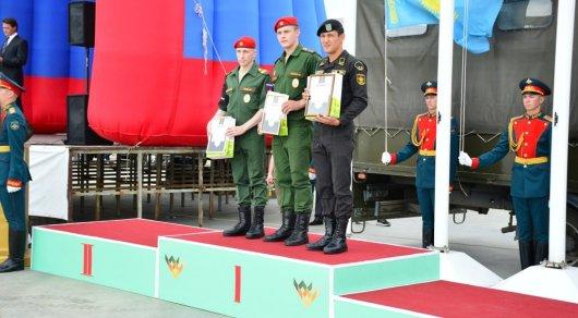 Военнослужащие из Казахстана заняли второе место в конкурсе