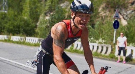 Казахстанец Алексей Сидоренко выиграл трехдневные соревнования по триатлону в России
