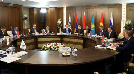 Премьеры ЕАЭС в Астане не сошлись в дате следующего заседания