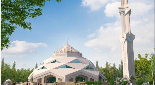 Мечеть в футуристическом стиле строят в Астане