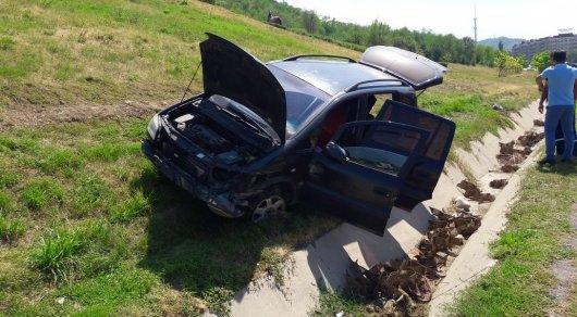 Девушка-водитель и четверо детей пострадали в ДТП на ВОАД в Алматы