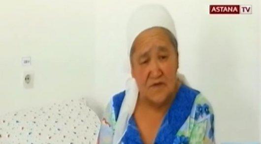 Акимат Кызылординской области заинтересовался судьбой брошенной детьми пожилой женщины