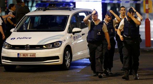 Автомобиль врезался в группу людей в Бельгии