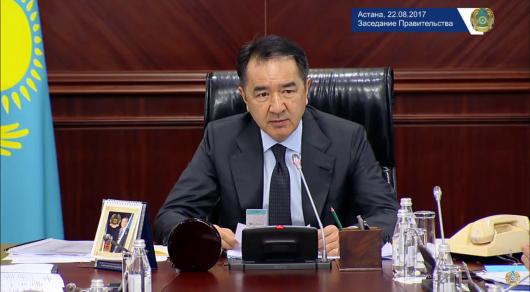 Сагинтаев обратился к министрам после критики Назарбаева на совещании в Бурабае