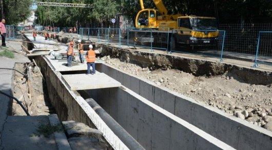Когда закончат ремонт по улице Толе би, рассказали в акимате Алматы