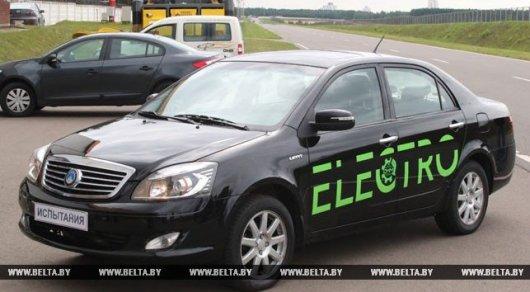 Создан первый белорусский электромобиль