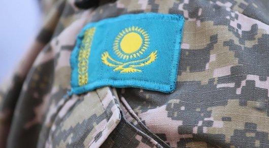 Трагедия в Караганде: военнослужащего Нацгвардии зажало прицепом