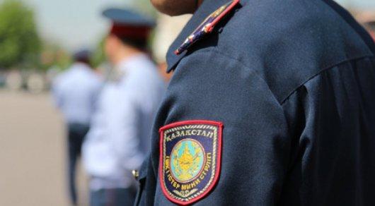 В Алматы усилено полицейское патрулирование