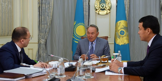 Нурсултан Назарбаев встретился с Дауреном Абаевым