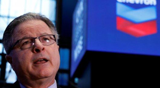 Глава Chevron уходит в отставку - СМИ