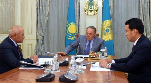 Нурсултан Назарбаев принял Умирзака Шукеева