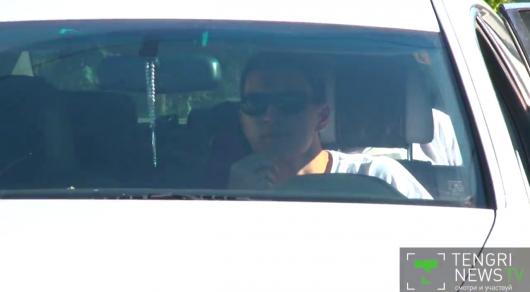 Водителя Максата Усенова оштрафовали за непристегнутый ремень