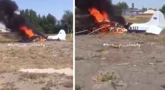 Названа предварительная версия катастрофы с самолетом Як-12М в Алматинской области